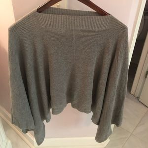 Lululemon cape sweater gray